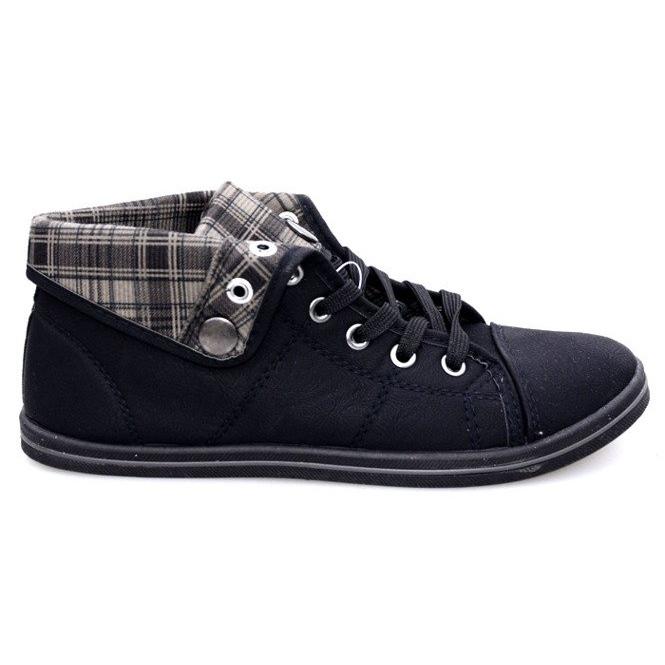 Magas cipők Konwers DD52 fekete