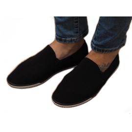 Lycra D16M fekete csúsztatható cipők