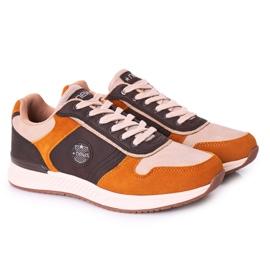 NEWS Férfi sportcipők Sárga-barna Harold cipők sokszínű