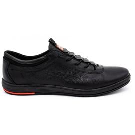 Polbut Férfi bőr alkalmi cipő K23 fekete