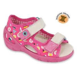 Befado gyermekcipő pu 065X153 rózsaszín