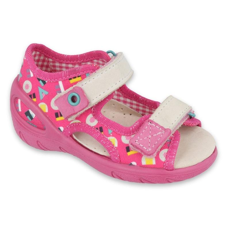 Befado gyermekcipő pu 065P153 rózsaszín
