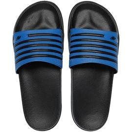 Papucs 4F M H4L21 KLM001 33S fekete kék