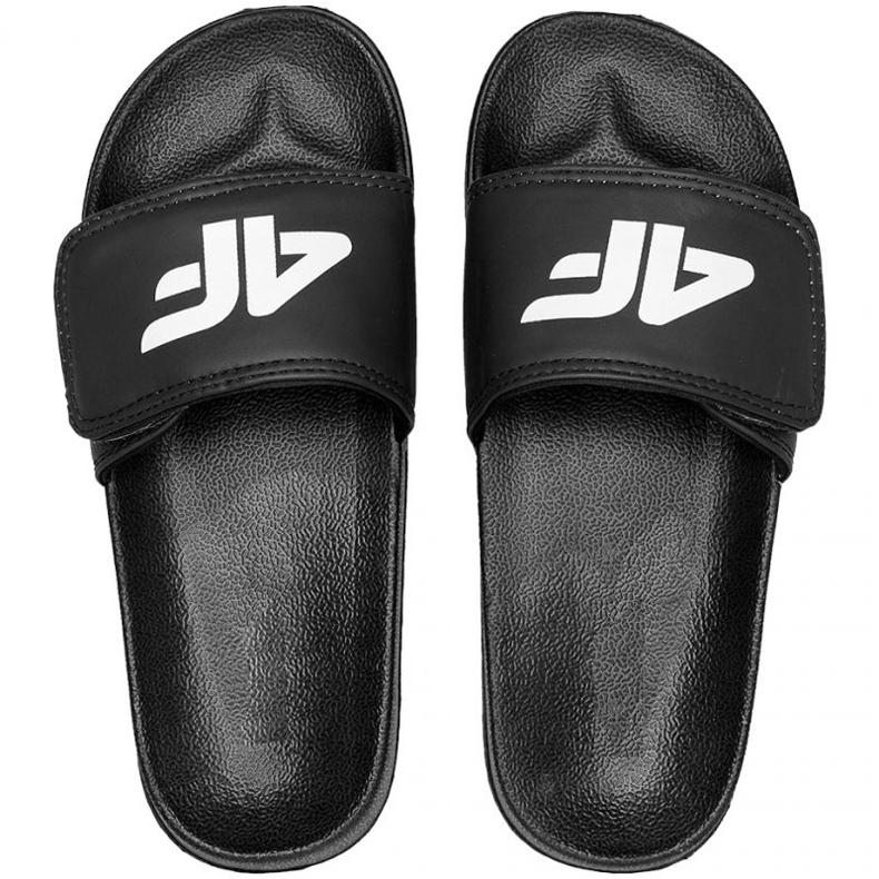 4F Jr HJL21 JKLM001 20S papucs fekete