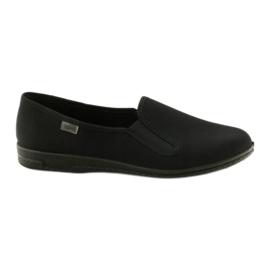 Fekete papucs Befado 001M060