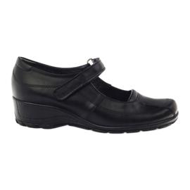 Kényelmes platform cipő Angello 371 fekete