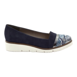 Edeo LORDSY cipő kényelmes sötétkék