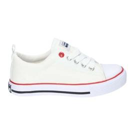 American Club Fehér amerikai LH25 csomós cipők