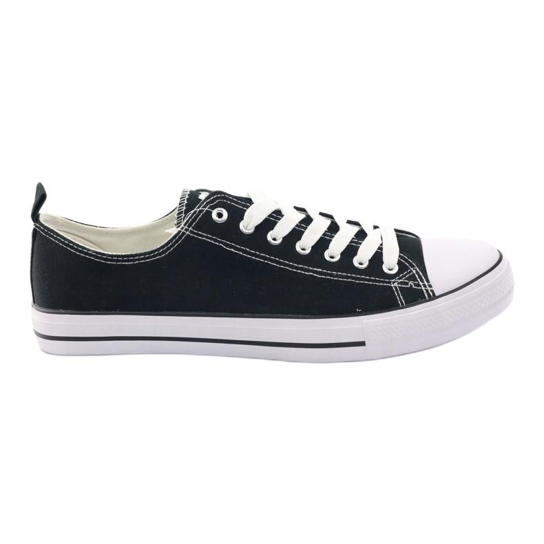 Fekete American Club LH03 cipők