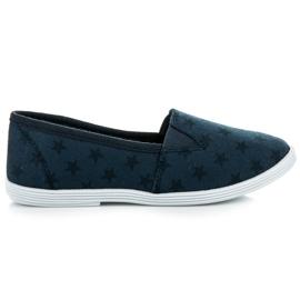 Mckeylor Cipők csillaggal kék