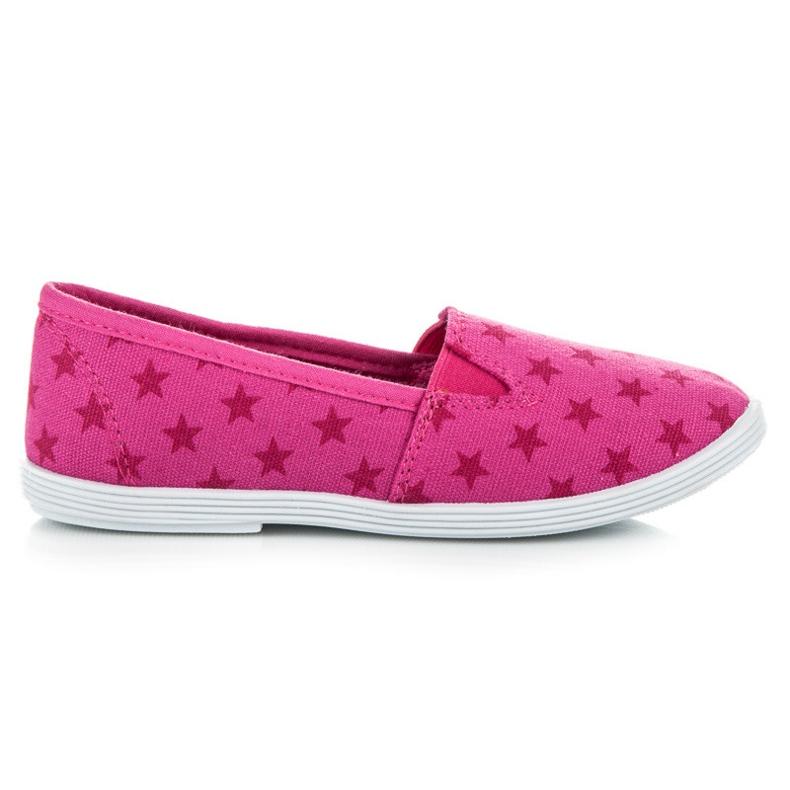 Mckeylor Cipők Csillaggal rózsaszín