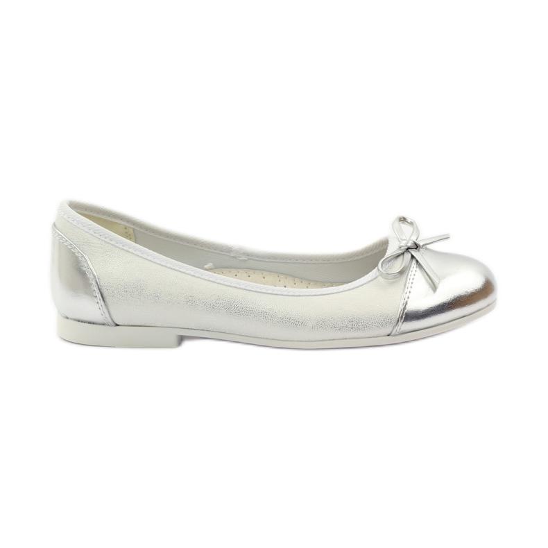 American Club Balerinas cipő amerikai íjjal fehér