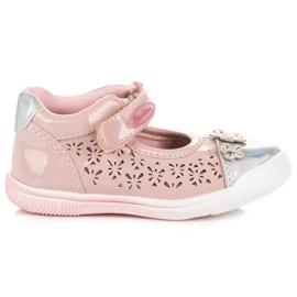 American Club Áttört amerikai cipő rózsaszín