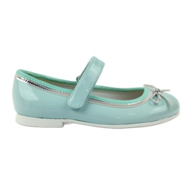 American Club Balerinas cipő amerikai íjjal zöld