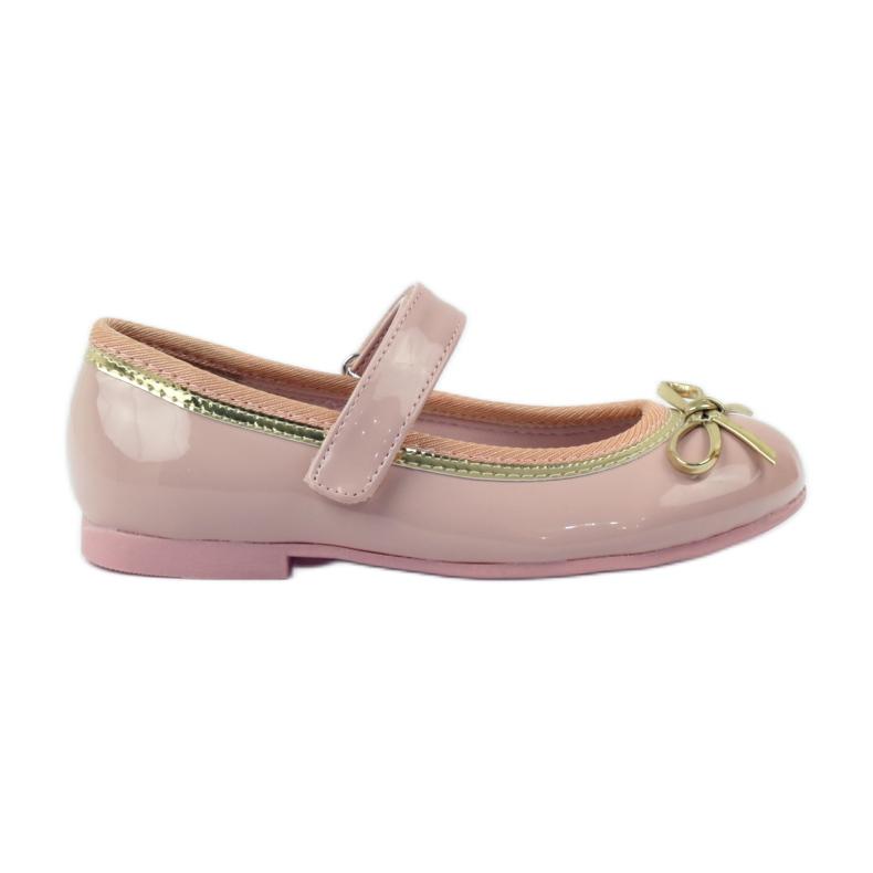 American Club Balerinas cipő amerikai íjjal rózsaszín