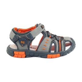 American Club Gyerek cipő szandál bőrrel 93607