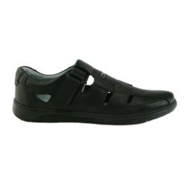 Riko cipő férfi 851 szandál szürke