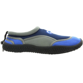 Aqua-Speed Jr. neoprén tengerparti cipő, sötétszürke
