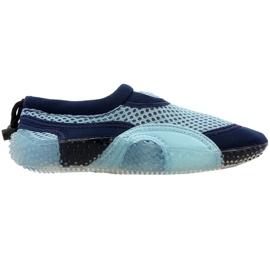 Neoprén strandcipő Aqua-Speed Jr kék