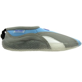 Az Aqua-Speed Jr. neoprén tengerparti cipő szürke