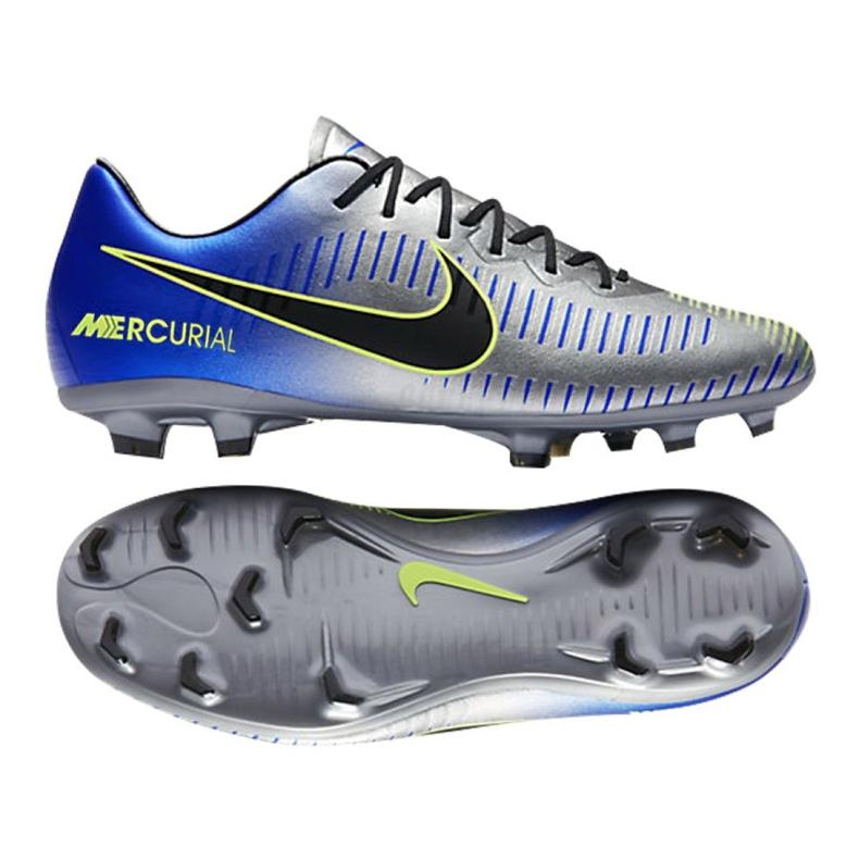 Nike Mercurial Vapor Xi Neymar Fg Jr 940855-407 kék, szürke / ezüst kék