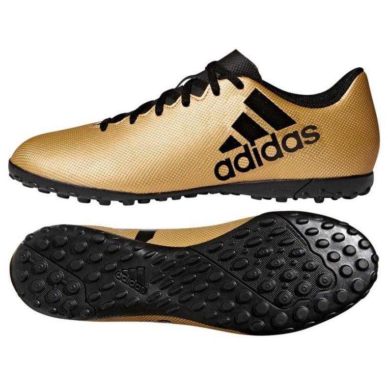 Adidas X Tango 17.4 Tf M CP9146 futballcipő arany arany