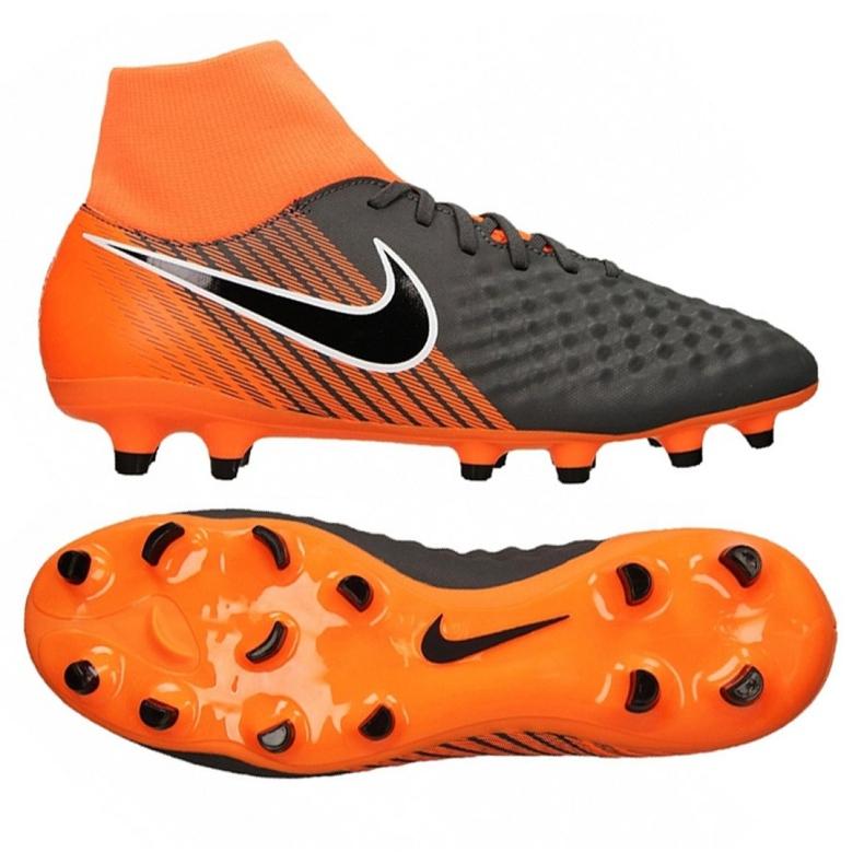 Labdarúgás cipő Nike Obra Ii Academy Df Fg M AH7303-080 sokszínű grafit