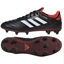 Adidas Copa 18.3 Fg M CP8953 futballcipő fekete fekete