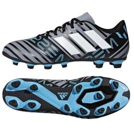 Adidas Nemeziz Messi 17.4 FxG M CP9047 futballcipő fekete fekete