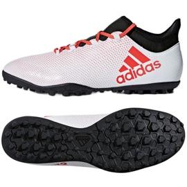 Adidas X Tango 17.3 Tf M CP9136 futballcipő fehér fehér