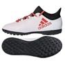 Adidas X Tango 17.3 Tf Jr CP9025 futballcipő fehér fehér
