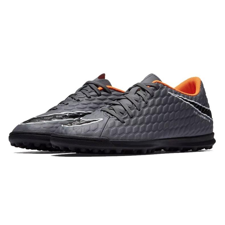 Labdarúgás cipő Nike Hypervenom PhantomX 3 Club Tf M AH7281-081 szürke / ezüst szürke