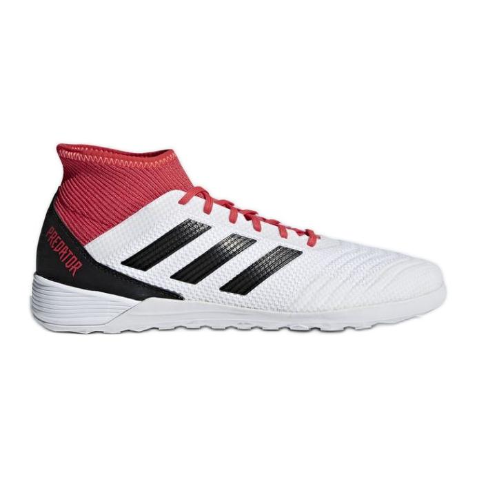 Adidas Predator Tango 18.3. Az M CP9929 beltéri cipőben fehér, piros fehér