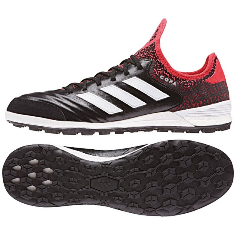 Adidas Copa Tango 18.1 Tf M CP9433 futballcipő fekete, piros fekete