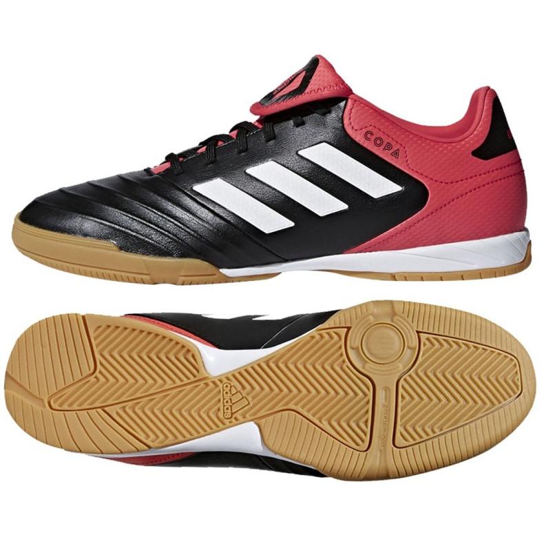 Adidas Copa Tango 18.3 az M CP9017 beltéri cipőben fekete fekete, piros