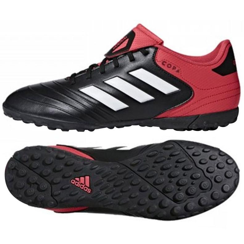 Adidas Copa Tango 18.4 Tf M CP8975 futballcipő fekete, piros fekete
