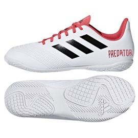 Adidas Predator Tango 18.4. Jr CP9103 beltéri cipő fehér fehér, piros