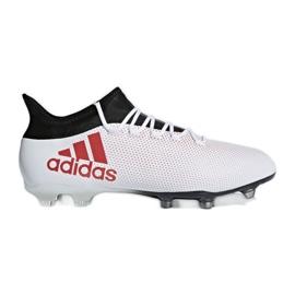 Foci cipő adidas X 17.2 Fg M CP9187 fehér, piros sokszínű