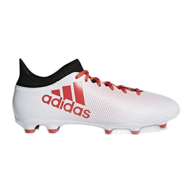 Adidas X 17.3 Fg M CP9192 futballcipő sokszínű piros, fehér, piros