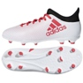 Adidas X 17.3 Fg Jr CP8991 futballcipő fehér fehér, piros