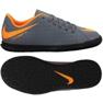 Beltéri cipő Nike Hypervenom PhantomX 3 Club Ic Jr AH7296-081 szürke narancssárga, szürke / ezüst