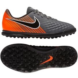 Nike Magista ObraX 2 Club TF Jr AH7317-080 futballcipő szürke