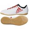 Adidas X Tango 17.4 IN Jr CP9053 beltéri cipő fehér