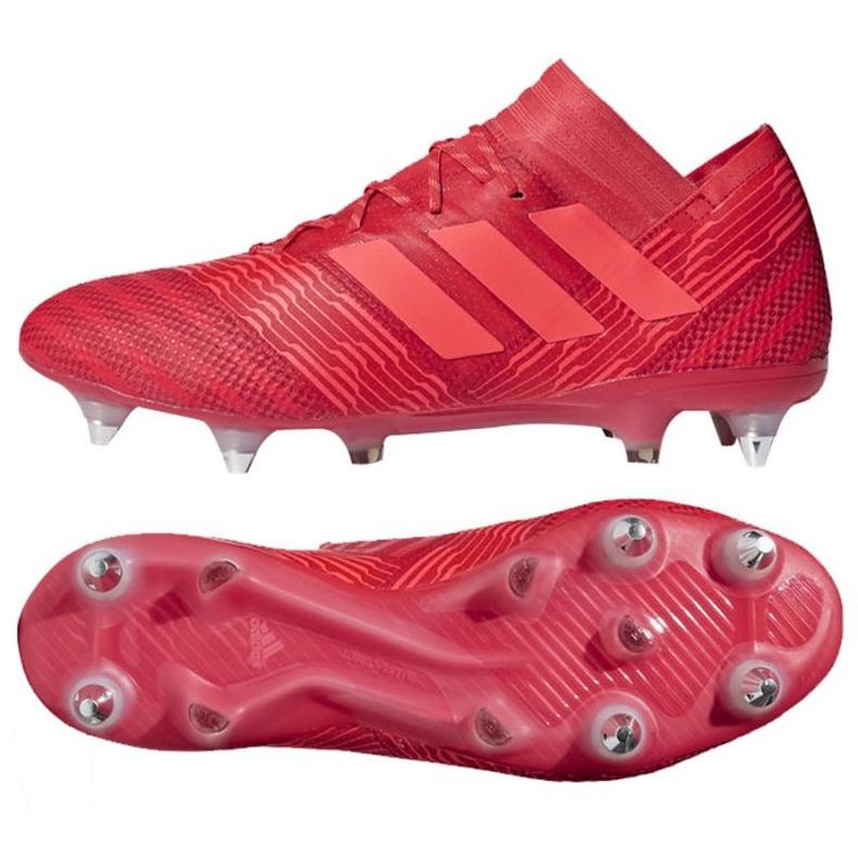 Adidas Nemeziz 17.1 Sg M CP8944 futballcipő piros piros