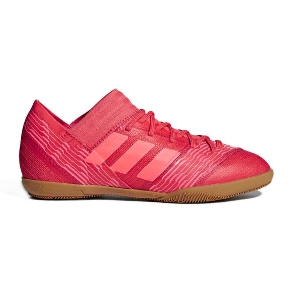 Adidas Nemeziz Tango 17.3 Jr CP9183 beltéri cipő piros piros