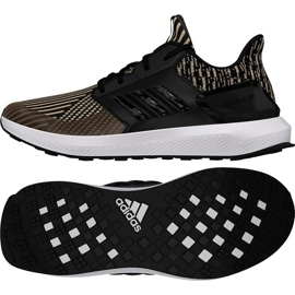 Adidas Rapida Run Knit Jr DB0220 futócipő fekete