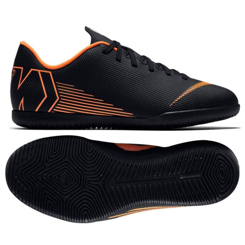 Nike Mercurial Vapor 12 Club beltéri cipő fekete