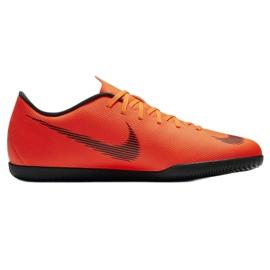 Nike Mercurial Vapor 12 Club beltéri cipő narancs