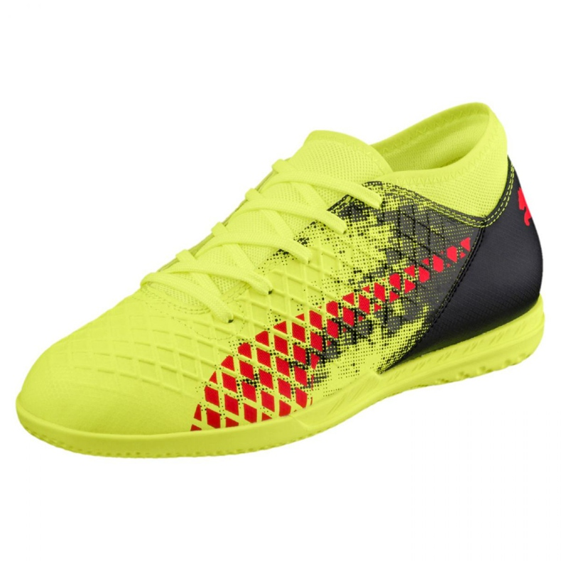 Reebok Puma Future 18.4 It Jr 104337 01 futballcipő sárga sárga