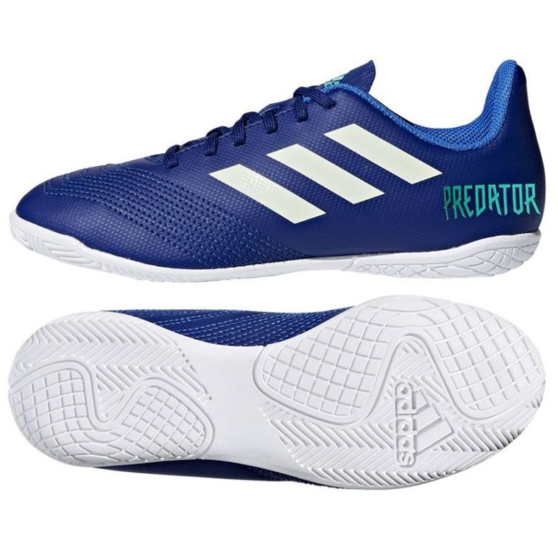 Adidas Predator Tango 18.4. Jr CP9104 beltéri cipő kék kék